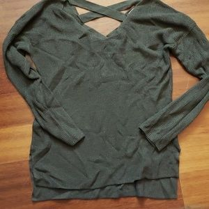 Olive/forest green sweater